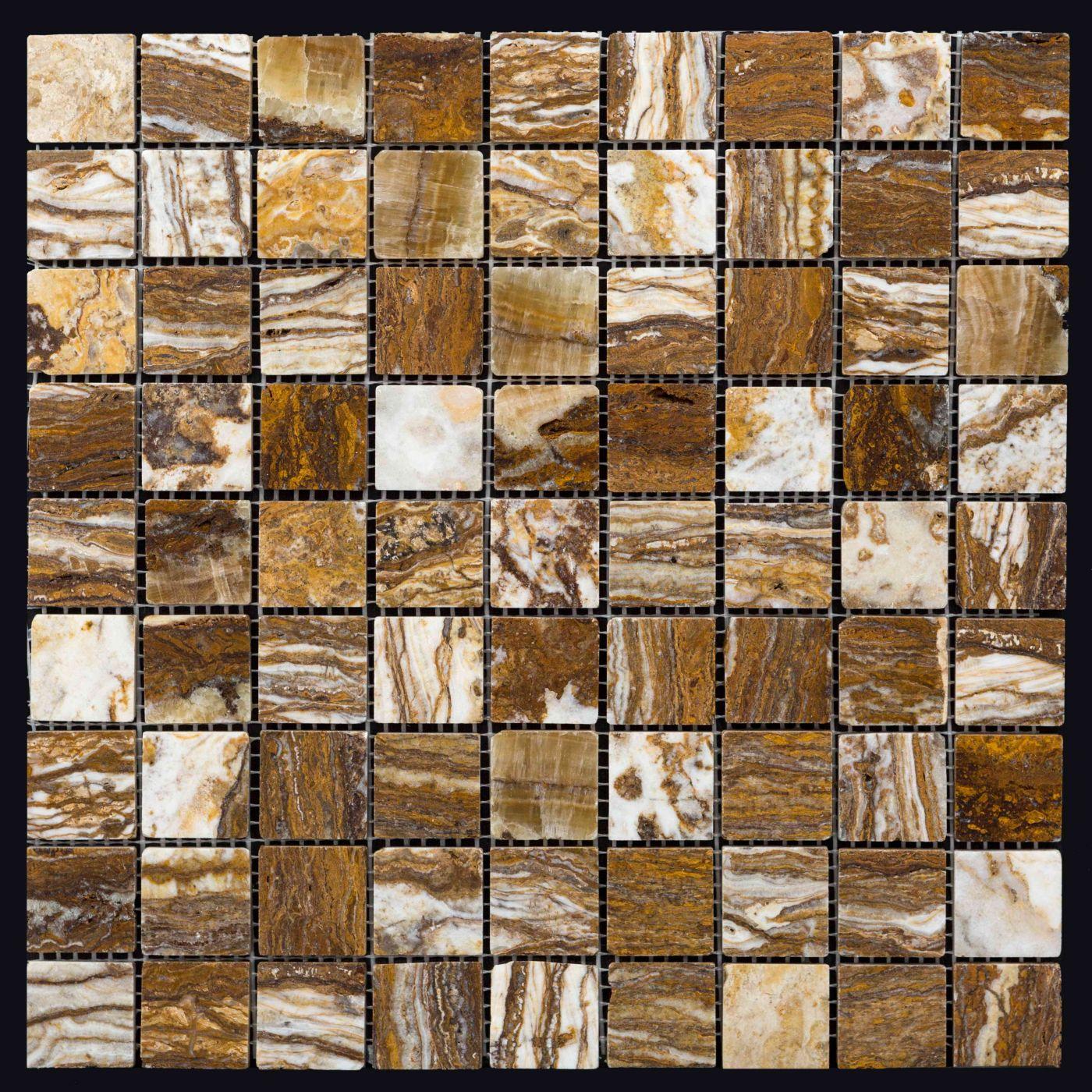 Мозаика из травертина ART. MZ011