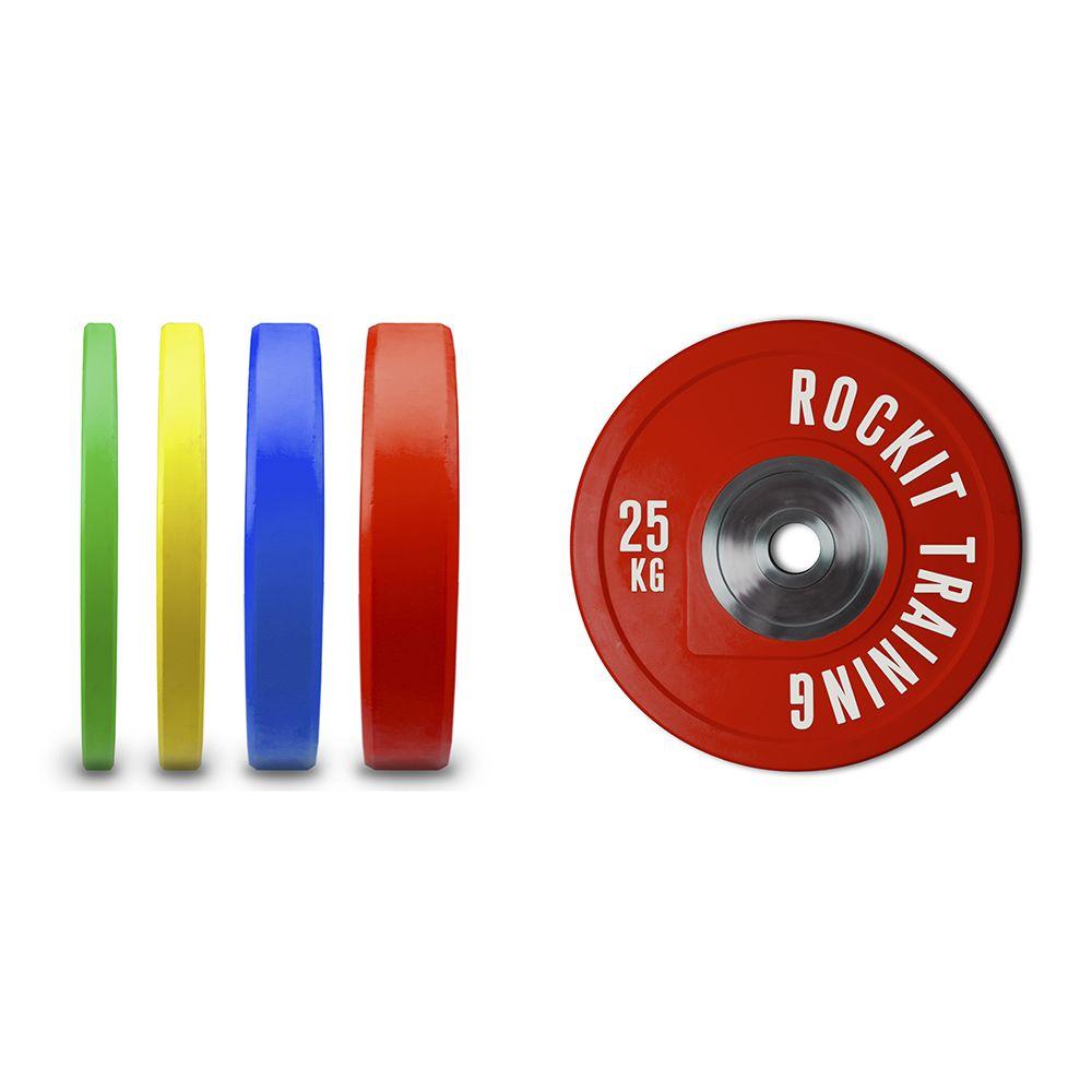 Диск бампированный уретановый Rockit 25 кг