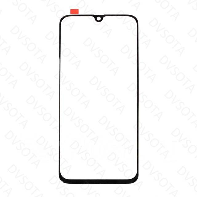 Защитное стекло на Samsung A40 с рамкой(черное)