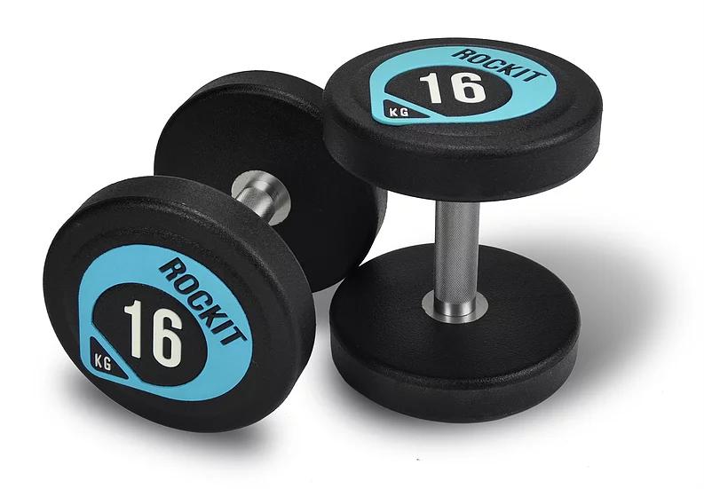 Набор уретановых гантелей Rockit 1-10 кг (110 кг, 10 пар)