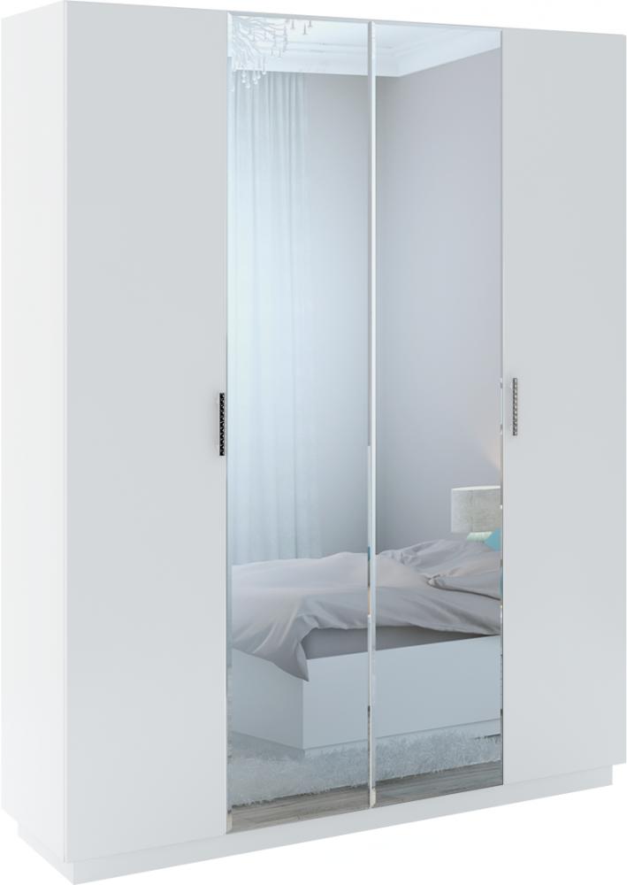 Тиффани Шкаф 4-х дверный с зеркалом М22