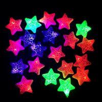 Электрическая новогодняя гирлянда Звезды, 5 м (1)