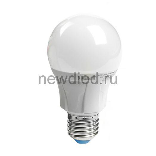 Лампа светодиодная LED-A60 16W-3000K-E27-FR Яркая 3000К матовая Uniel