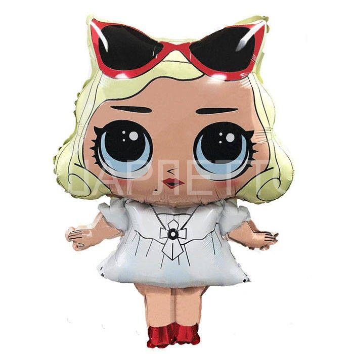 Шар Модная кукла с очками