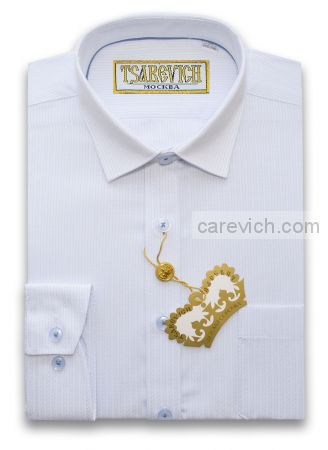 "Рубашки для мальчиков оптом ""Царевич"" (6-14 лет.). 10 шт. Артикул: Smart 11"