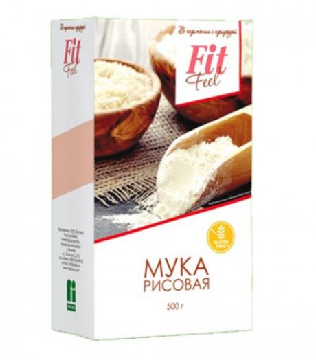 ФИТПАРАД Мука рисовая в картоне 500 г без глютена
