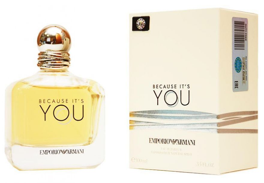 "Giorgio Armani ""Emporio Armani Because It's You"" 100 мл (EURO)"