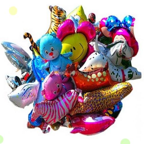Фольгированные шары в виде фигурок