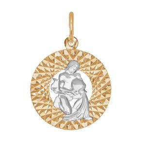 Подвеска «Знак зодиака Водолей» 031387 SOKOLOV