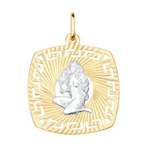 Подвеска «Знак зодиака Дева» 031639 SOKOLOV
