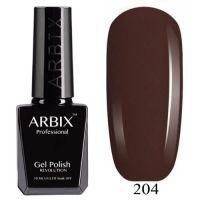 Arbix 204 Американский Брауни Гель-Лак , 10 мл
