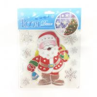 Набор новогодних наклеек Room Decor Дед Мороз, 21х15 см (2)