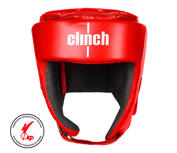 Шлем для единоборств Clinch Helmet Kick красный размер S, артикул C142