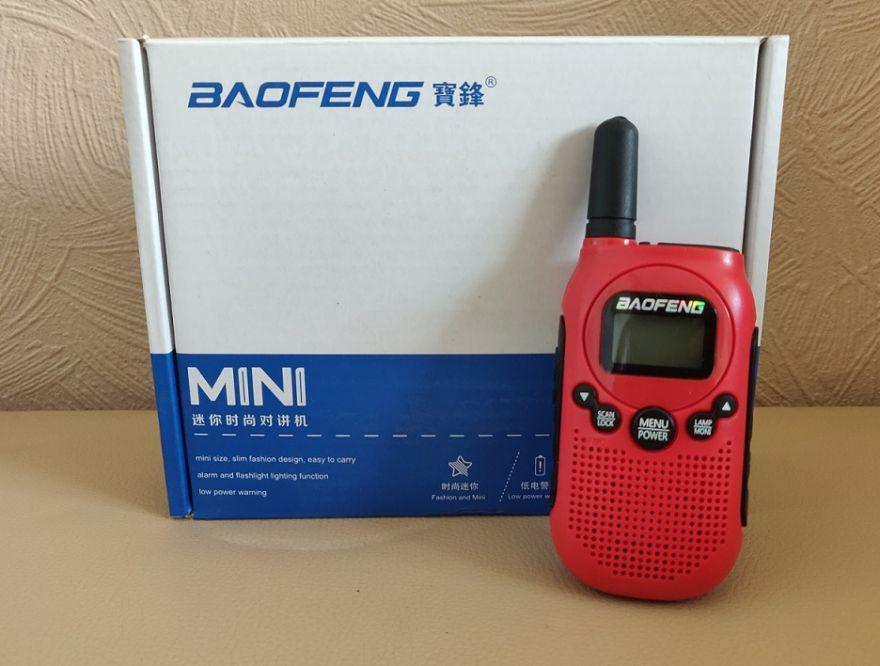 Рация Baofeng BF-T6 красная