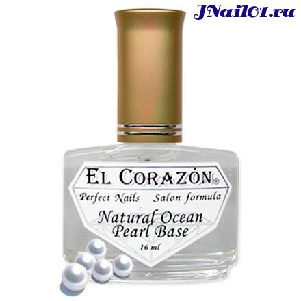 "El Corazon ""Natural Ocean Pearl Base"" №401"