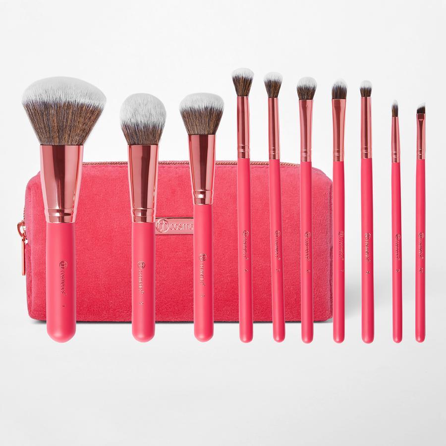 Набор кистей для макияжа BH COSMETICS - BOMBSHELL BEAUTY BRUSH SET