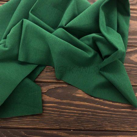 Трикотаж однотонный Темно-зеленый