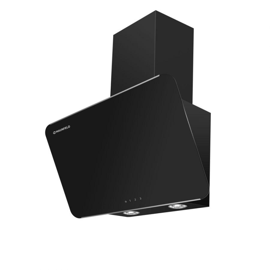 Кухонная вытяжка MAUNFELD Dream 60 чёрное стекло