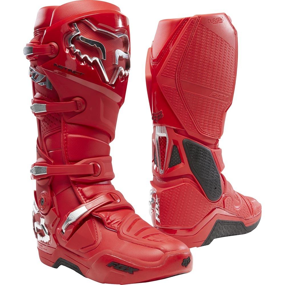Fox - 2020 Instinct Flame Red мотоботы, красные