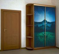 Наклейка на шкаф - Подножие вулкана | магазин Интерьерные наклейки