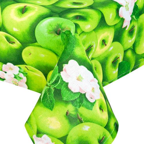 """Скатерть """"Яблоки"""", рогожка"""