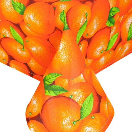 """Скатерть """"Апельсины"""", рогожка"""