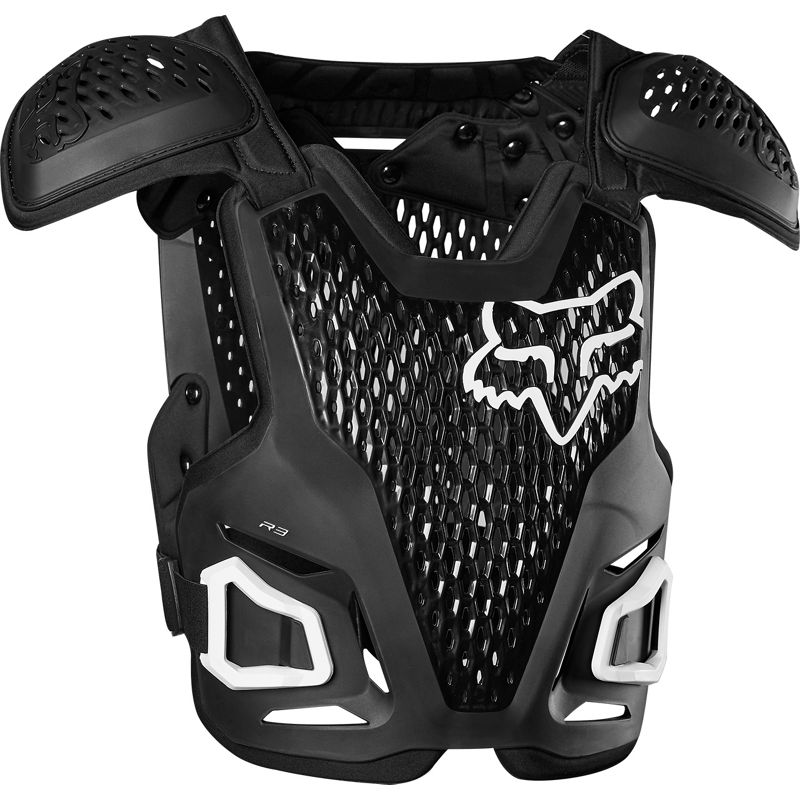 Fox R3 Guard Black жилет защитный, черный