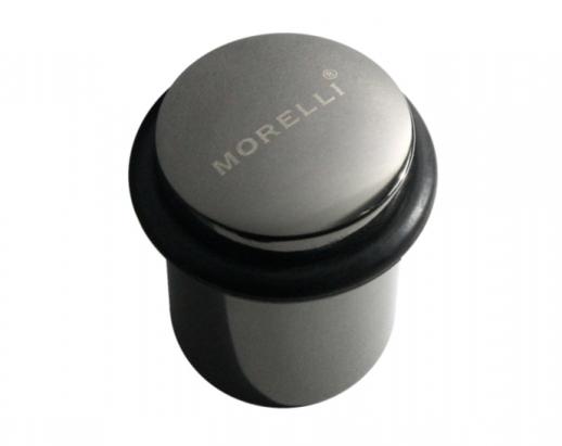 Ограничитель дверной напольный Ds3 Bn, Morelli, Черный никель