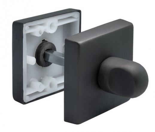 Завертка сантехническая Morelli Luxury LUX-WC-Q NERO Цвет черный