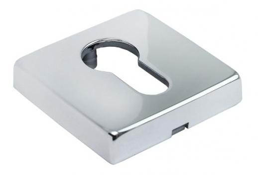 Накладки на ключевой цилиндр Morelli Luxury LUX-KH-Q CRO Цвет - Хром