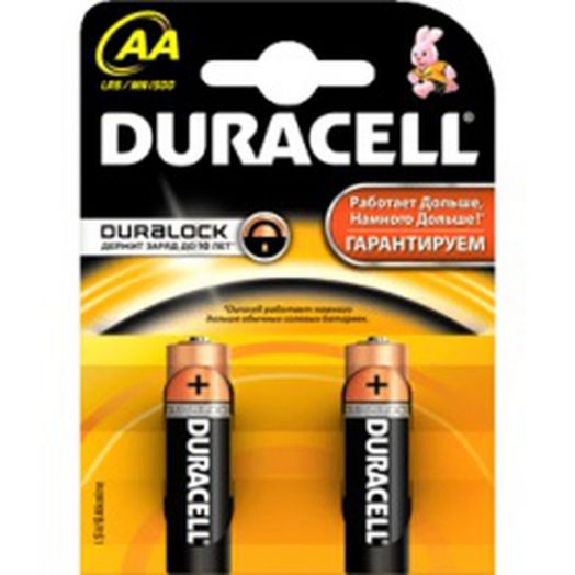 Батарейки DURACELL Original AA 1,5V 2шт за 1шт