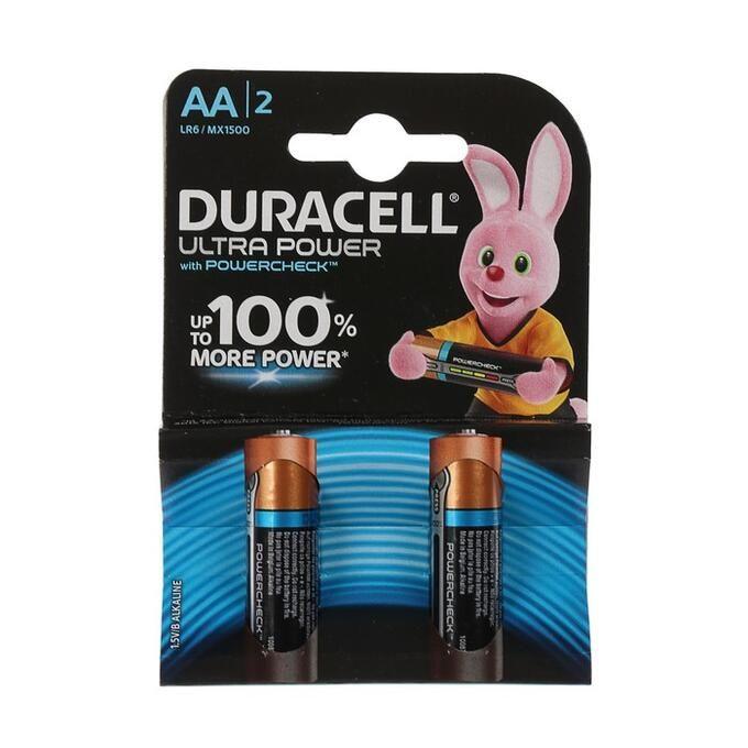 Батарейки DURACELL UltraPowerза АА 2шт за 1шт