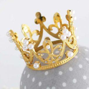 Аксессуар для куклы - Корона Золото 6 см