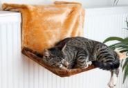 TRIXIE Гамак для кошек на радиатор (коричневый)