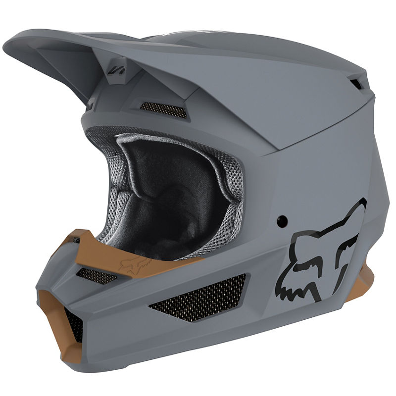 Fox - 2020 V1 Matte Stone шлем, серый матовый