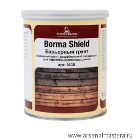 Барьерный грунт/антисептик для деревянных домов 1 л Borma Shield 3630