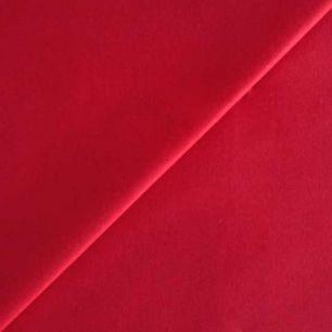 Ткань Хлопок Однотонный красный 50x40
