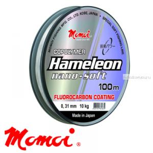 Леска флуорокарбон Momoi Hameleon Nano-Soft 100 м / цвет: прозрачный