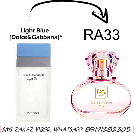 Light Blue от Dolce & Gabbana RA 33