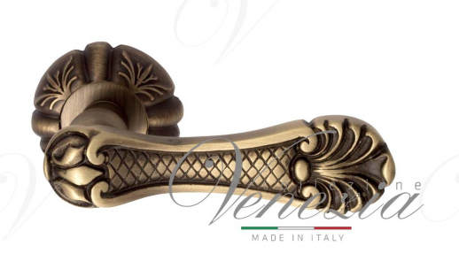"Дверная ручка Venezia ""FENICE"" D5 матовая бронза"