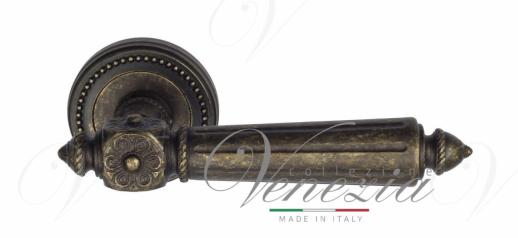 Дверная ручка Venezia Castello D3 античная бронза