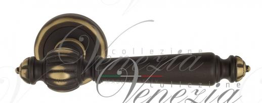 Дверная ручка Venezia PELLESTRINA D1 темная бронза