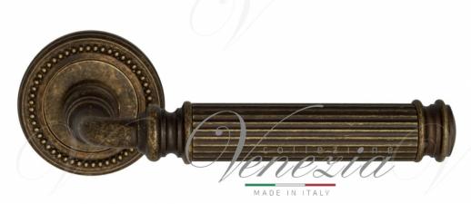"Дверная ручка Venezia ""MOSCA"" D3 античная бронза"