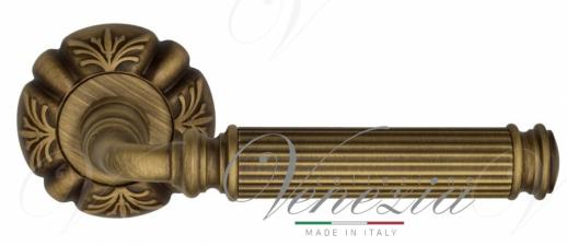"""Дверная ручка Venezia """"MOSCA"""" D5 матовая бронза"""