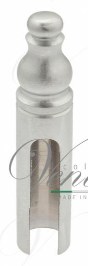 Колпачок для ввертных петель Venezia CP14 с пешкой D14 мм матовый хром