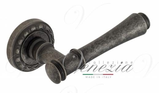 """Дверная ручка Venezia """"CALLISTO"""" D2 античное серебро"""