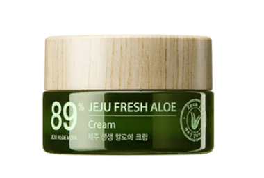 Крем для лица с алоэ The Saem Jeju Fresh Aloe Cream_I 50мл