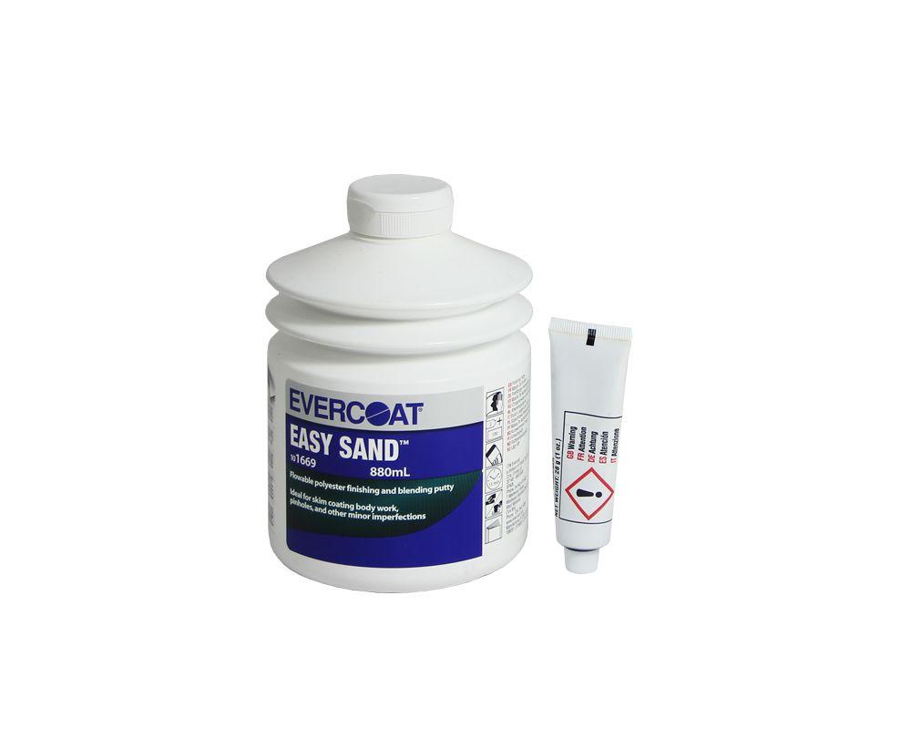 EVERCOAT Easy Sand Лёгкая отделочная шпатлёвка, 880мл.