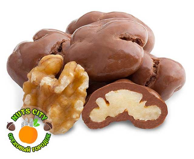 Грецкий орех в темном шоколаде