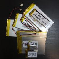 Аккумулятор технический универсальный (3.7 V/1000 mAh) (4 мм x 34 мм х 50 мм)